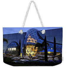 Weekender Tote Bag featuring the photograph Lady In The Window by David Lee Thompson