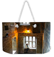 Weekender Tote Bag featuring the photograph Lady In Waiting  by Charlie and Norma Brock