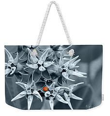 Ladybug Flower Weekender Tote Bag