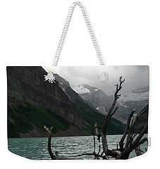Weekender Tote Bag featuring the photograph Lake Louise by Laurel Best