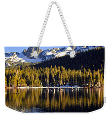Weekender Tote Bag featuring the photograph Lake Mary Reflections by Lynn Bauer