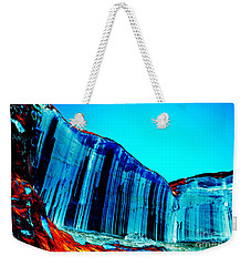 Lake Powell Blue Ice Weekender Tote Bag