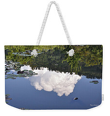 Lake Reflection Weekender Tote Bag by Kay Lovingood