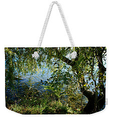 Lakeside Tree Weekender Tote Bag