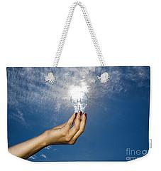 Lamp Bulb Weekender Tote Bag