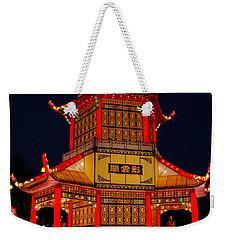 Lantern Lights Weekender Tote Bag by Vivian Christopher