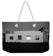 Weekender Tote Bag featuring the photograph Last Light On by Kathleen Grace