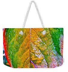 Leaf 2 Weekender Tote Bag by Bill Owen