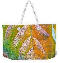 Leaf Weekender Tote Bag by Bill Owen