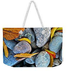 Leaves And Rocks Weekender Tote Bag by Bill Owen