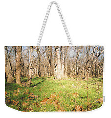 Leaves In The Fall Weekender Tote Bag
