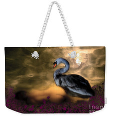 Leda And The Swan Weekender Tote Bag by Rosa Cobos