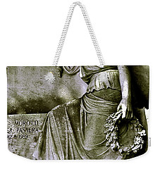 Left In Peace Weekender Tote Bag by Valerie Rosen