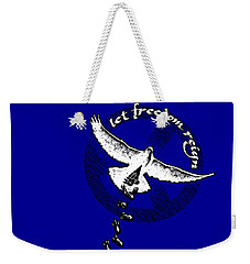 Let Freedom Reign Weekender Tote Bag by Tony Koehl