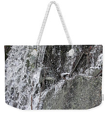 Weekender Tote Bag featuring the photograph Let It Flow by Tiffany Erdman