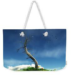 Life And Death... Weekender Tote Bag by Tim Fillingim