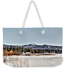 Life On The Lake Weekender Tote Bag