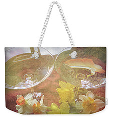 Weekender Tote Bag featuring the photograph Life's Simple Pleasures by Kay Novy