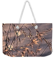 Light Bubbles And Grass 2 Weekender Tote Bag by Jocelyn Kahawai