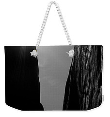 Weekender Tote Bag featuring the photograph Light Of Day by Vicki Pelham