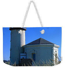 Weekender Tote Bag featuring the photograph Lighthouse by Rory Sagner