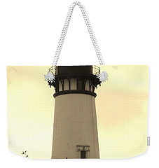 Weekender Tote Bag featuring the photograph Lighthouse Tranquility by Athena Mckinzie