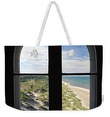 Lighthouse Window Weekender Tote Bag