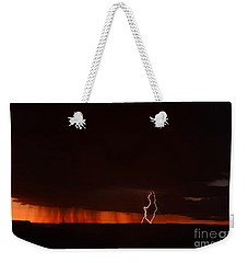 Lightning At The Grand Canyon Weekender Tote Bag