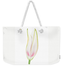 Lily In The Snow Weekender Tote Bag