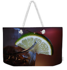 Lime Time Weekender Tote Bag