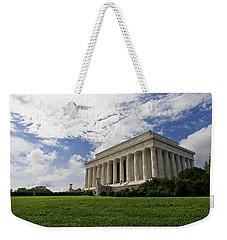 Lincoln Memorial And Sky Weekender Tote Bag