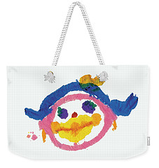 Lipstick Face Weekender Tote Bag