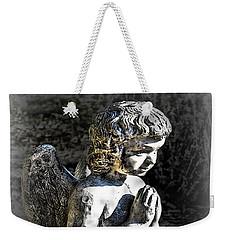 Little Angel Statue Weekender Tote Bag