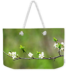 Little Petals Weekender Tote Bag by Michelle Joseph-Long