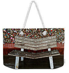 Weekender Tote Bag featuring the photograph Locks Of Love 2 by Kume Bryant