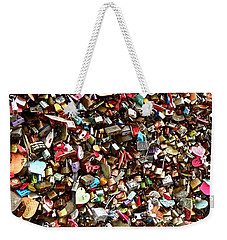 Weekender Tote Bag featuring the photograph Locks Of Love by Kume Bryant
