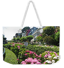 Weekender Tote Bag featuring the photograph Lombard Street by Dany Lison
