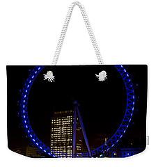 London Eye And River Thames View Weekender Tote Bag