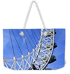 London Eye Weekender Tote Bag by Elena Elisseeva