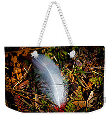 Lonely Feather Weekender Tote Bag by Doug Long