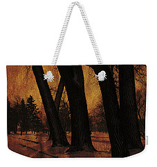 Long Shadows Weekender Tote Bag by Alyce Taylor