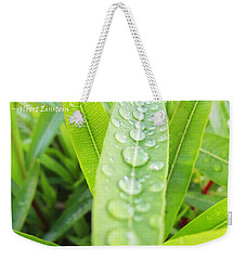 Look Deep Into Nature Weekender Tote Bag