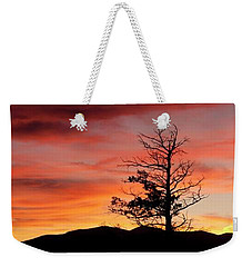 Lookin' Out My Front Door Weekender Tote Bag by Angelique Olin