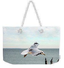 Weekender Tote Bag featuring the photograph Looking For Dinner by Clayton Bruster