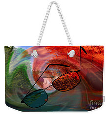 Looking Forward Looking Back Weekender Tote Bag