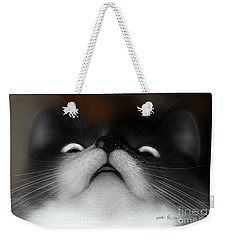Weekender Tote Bag featuring the photograph Looking Up by Vicki Ferrari