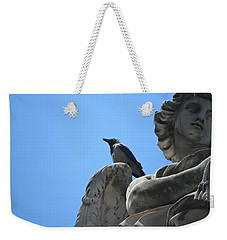 Weekender Tote Bag featuring the photograph Lookout by Laurel Best