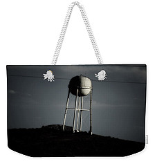 Weekender Tote Bag featuring the photograph Lopsided Tower by Jessica Shelton