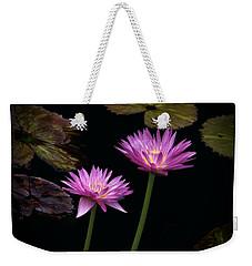 Lotus Water Lilies Weekender Tote Bag