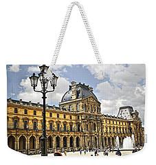 Louvre Museum Weekender Tote Bag by Elena Elisseeva